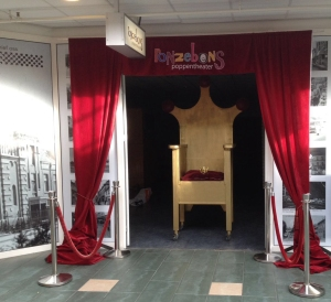 theater galarij aangekleed 3 met stoel knip